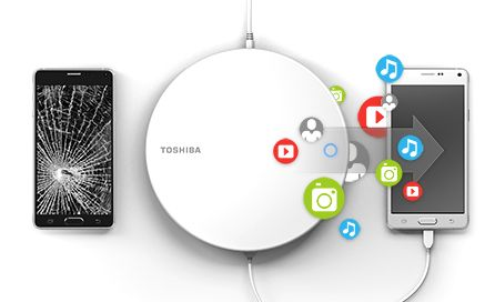 Canvio for Smartphone, dispositivo desarrollado por Toshiba