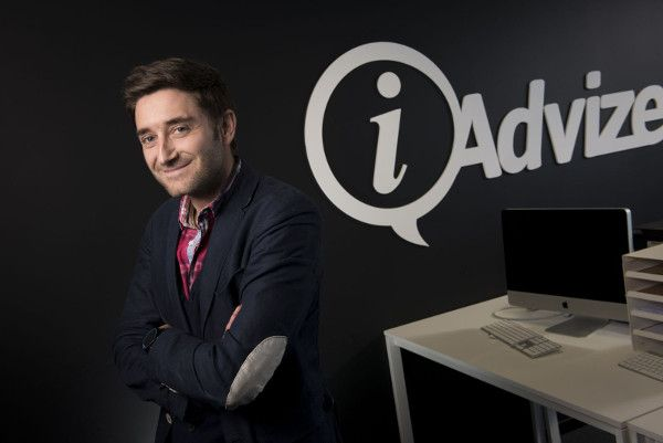 Julien Hervouët, CEO y co-fundador de iAdvize