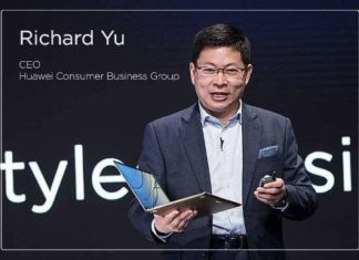 Richard Yu, consejero delegado de Huawei Consumer Business Group